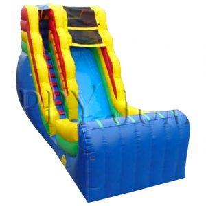 Rainbow Water Slide Fun Jump