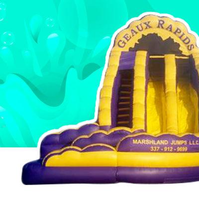 Geaux Rapids LSU Water Slide