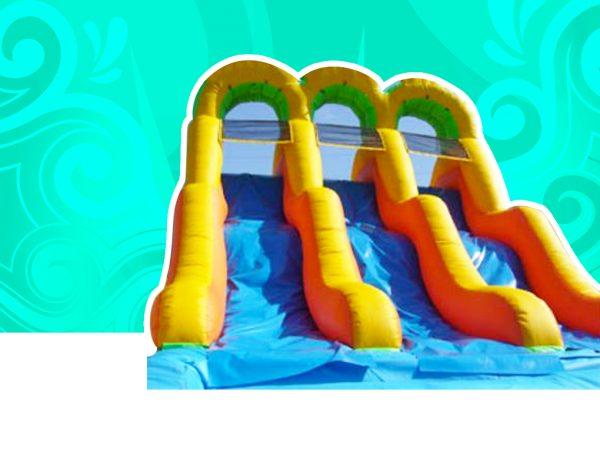 Triple Water/Dry Slide