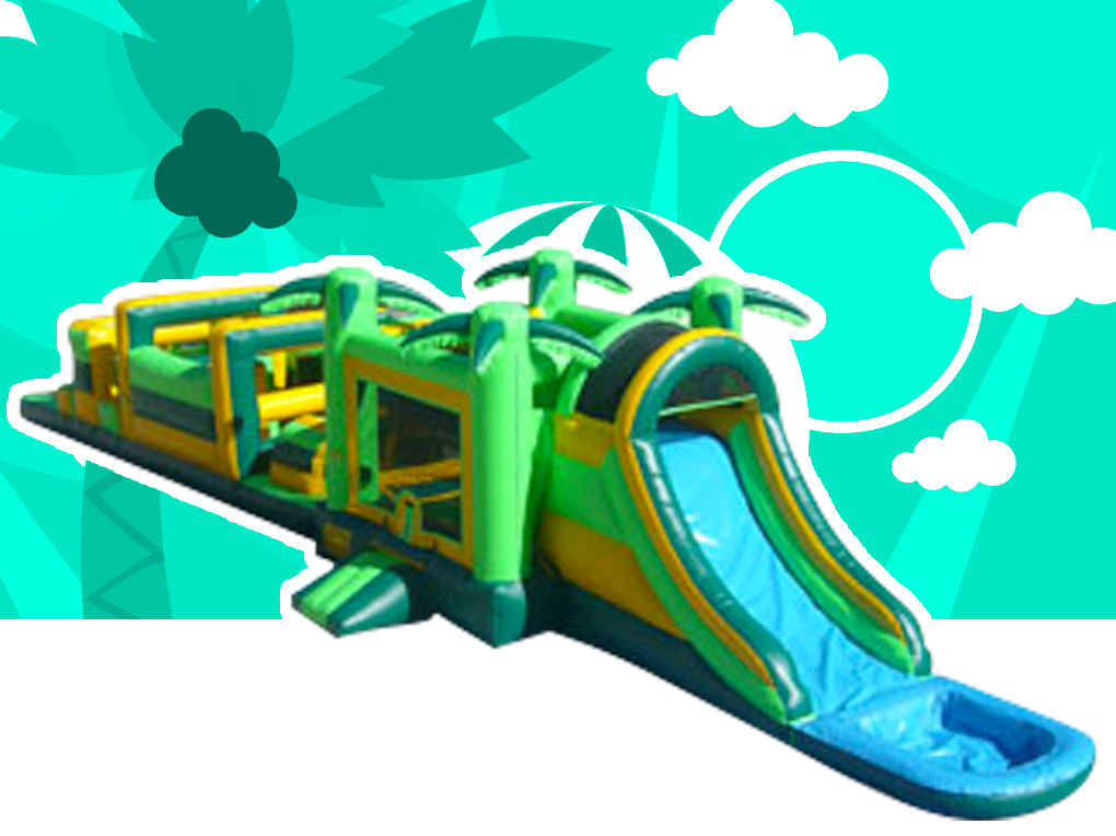 Tropical Adventure Obstacle Course