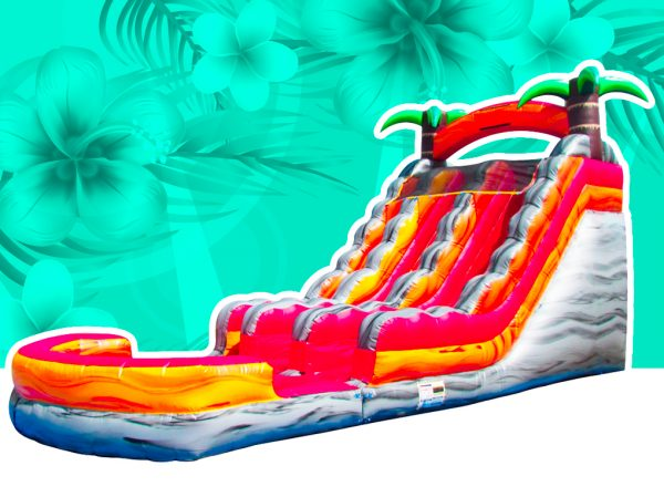 Tropical Lava Rush Water Slide