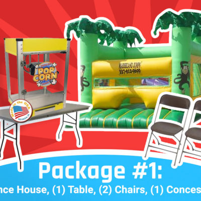 fun jump packages - package one