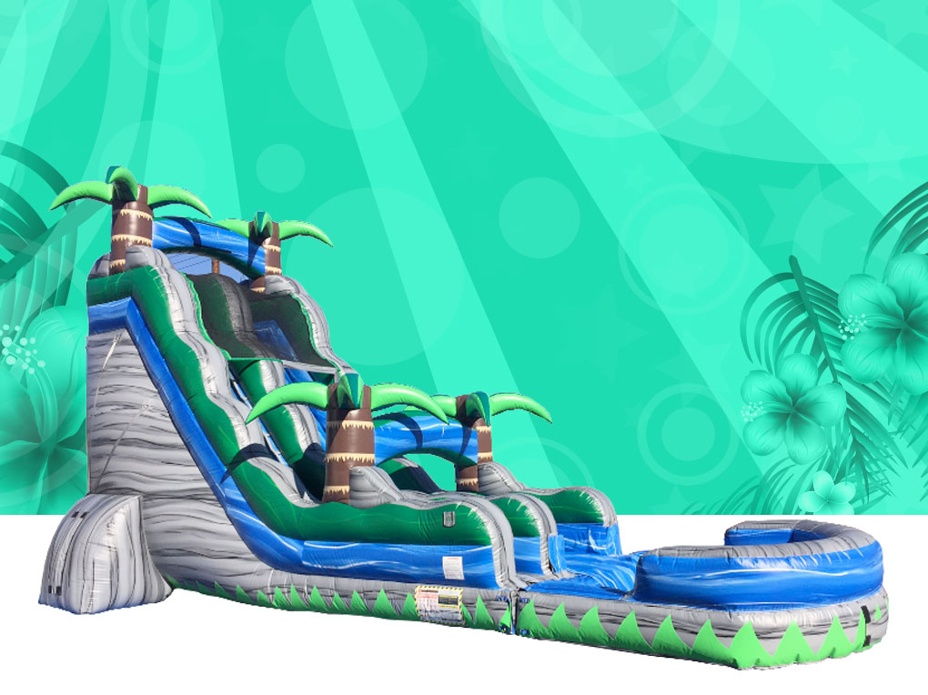 16 Ft. Cascade Crush Water Slide
