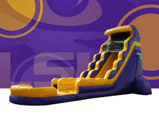 18 ft LSU Dual Lane Wet or Dry Slide